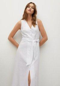Mango - Shirt dress - white - 3