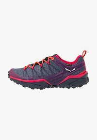 Salewa - DROPLINE GTX - Hiking shoes - ombre blue/virtual pink - 0