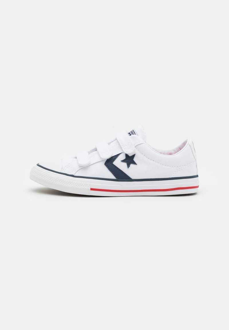 Converse - STAR PLAYER TRIPLE UNISEX - Sneakers laag - white/navy/red