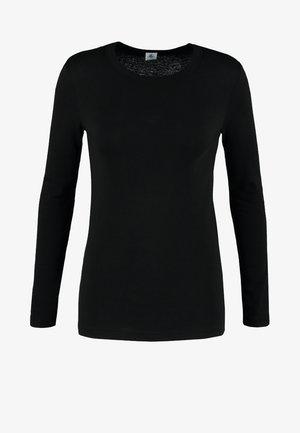 Langarmshirt - noir