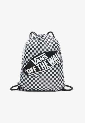 UA BENCHED - Sports bag - black/white checkerboard