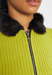 The Ragged Priest - LATE CARDI - Vest - lime/black - 5