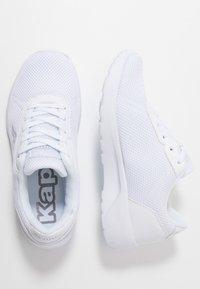 Kappa - TUNES - Sports shoes - white - 1