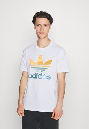 TREF OMBRE UNISEX - T-shirt imprimé - white
