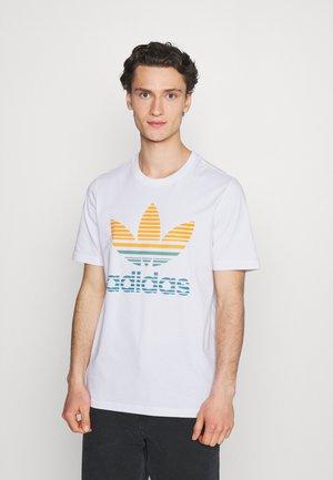 TREF OMBRE UNISEX - Print T-shirt - white