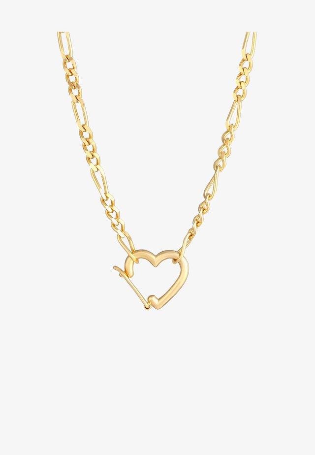 HERZ  - Halsband - gold