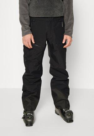 VERTICAL 3L PANTS - Pantalón de nieve - black