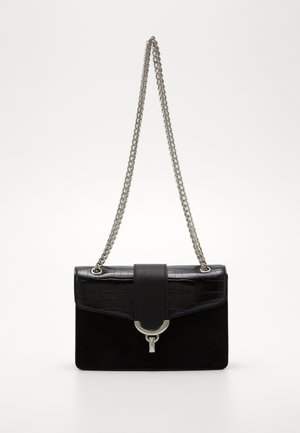 OSCAR CHAIN SHOULDER - Borsa a tracolla - black