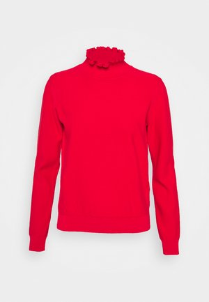 Pullover - swinging red