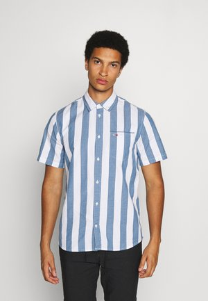 TJM SEERSUCKER STRIPE SHIRT - Shirt - audacious blue/multi