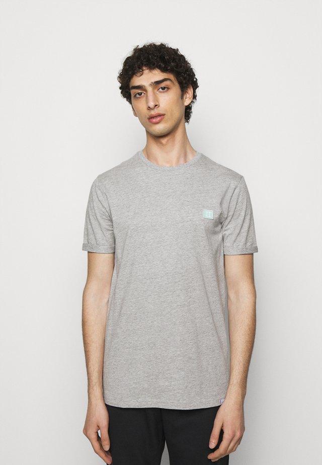 PIECE - Basic T-shirt - light grey melange