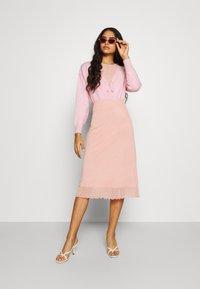 Fashion Union - EFFY CARDI - Cardigan - pink - 1