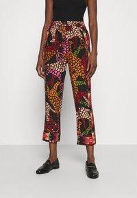 Farm Rio - LEAOPARD PANTS - Trousers - multi - 2
