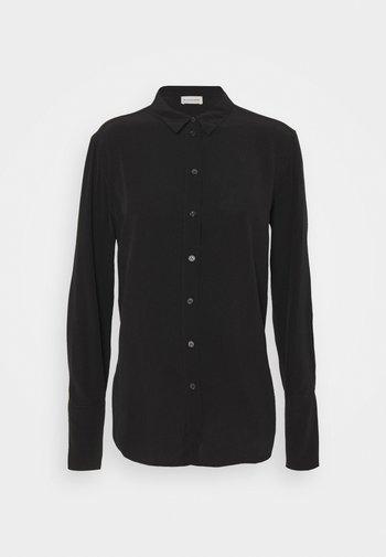 CALANI - Button-down blouse - black