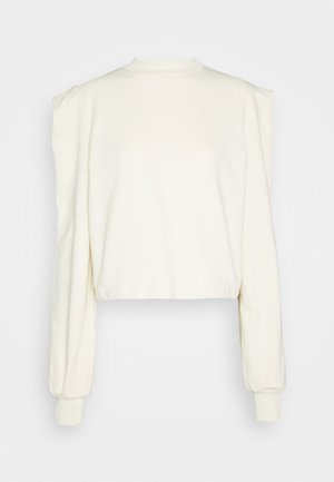 SHOULDER FOCUS  - Mikina - offwhite