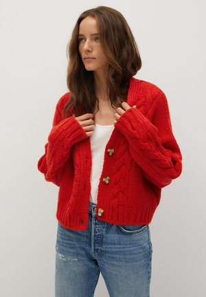 DIAGO - Strickjacke - rot