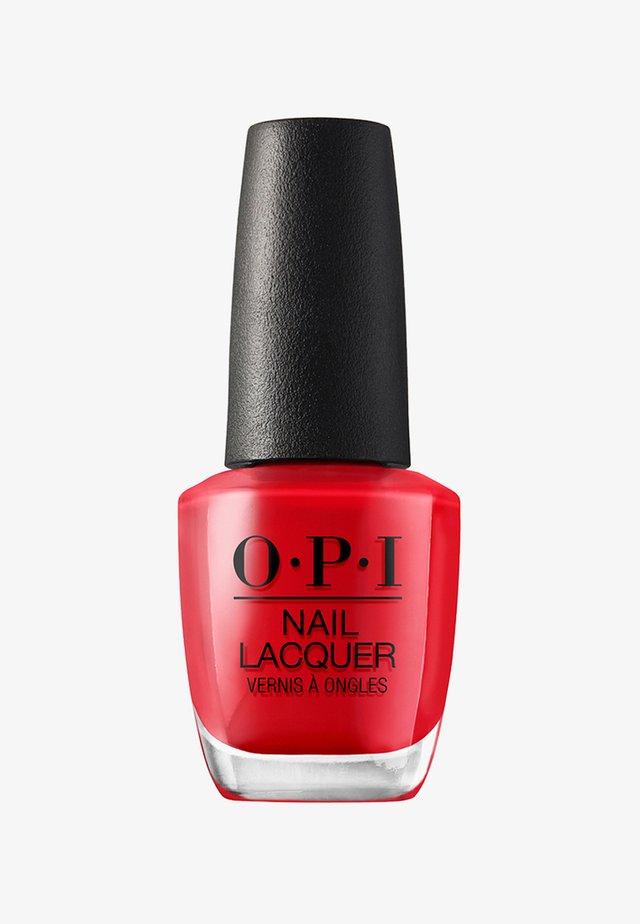 SCOTLAND COLLECTION NAIL LACQUER - Nail polish - nlu13 - red heads ahead