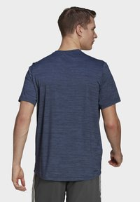 adidas Performance - M HT EL TEE - T-shirts basic - blue - 1