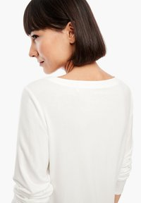 s.Oliver - Long sleeved top - cream - 5