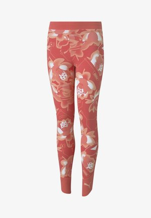 Tights - sun kissed coral