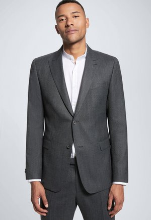 ASTON - Suit jacket - grau meliert