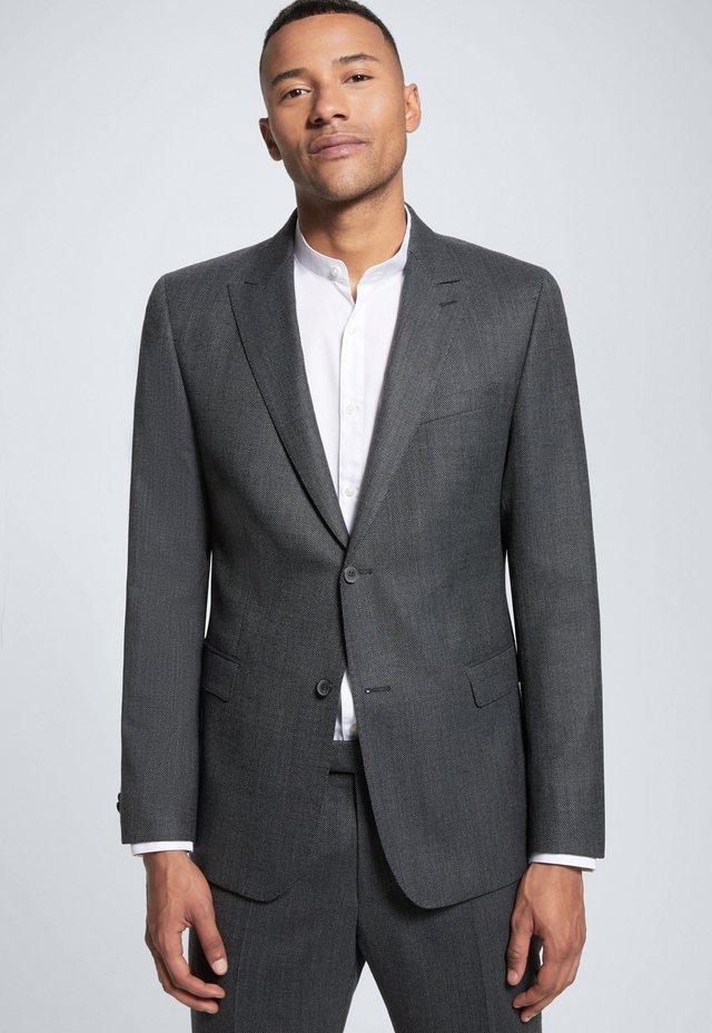 ASTON - Veste de costume - grau meliert