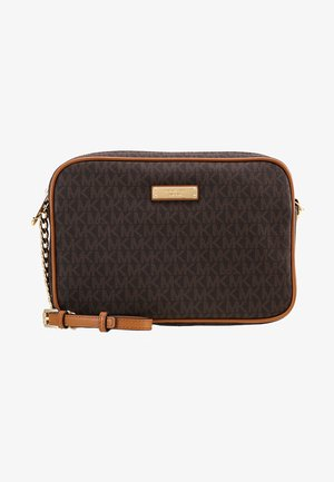 JET SET CROSSBODY - Skulderveske - brown