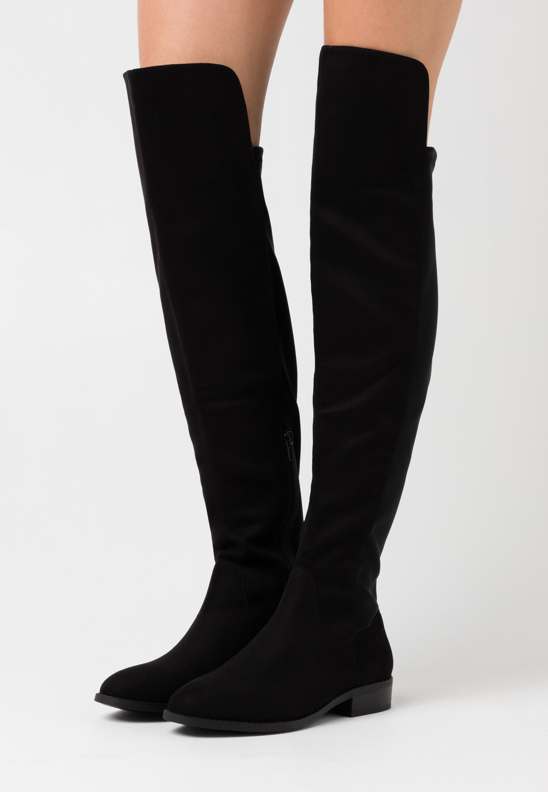 Women Over-the-knee boots - black