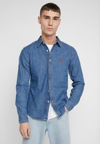 Levi's® - BATTERY SLIM - Overhemd - redcast stone mid flat - 0