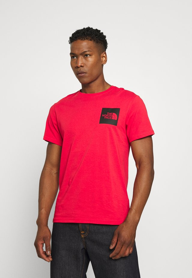 FINE TEE - T-shirt con stampa - horizon red