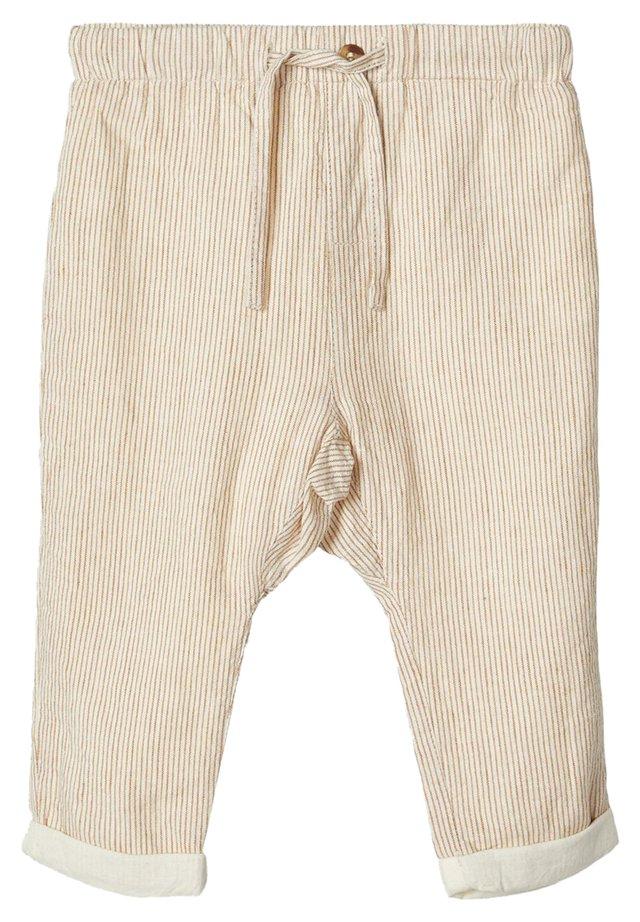 Trousers - bone brown