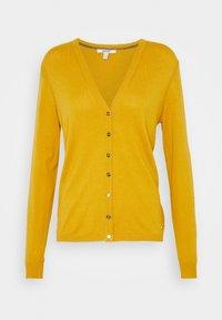 Esprit - BASIC  - Cardigan - brass yellow - 0