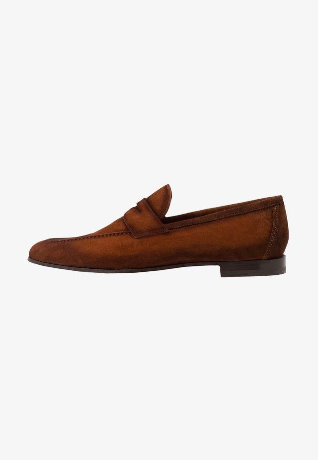 GUATONO - Scarpe senza lacci - congac