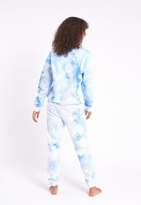 Chelsea Peers - NYC LOUNGE TIE DYE BLUE JOGGER - Tracksuit bottoms - blue - 2