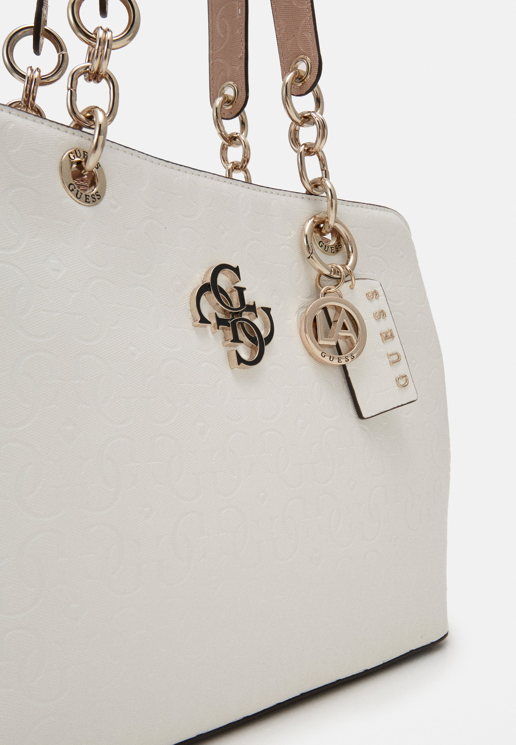Guess Chic Shine - Handtasche White/multi/weiß