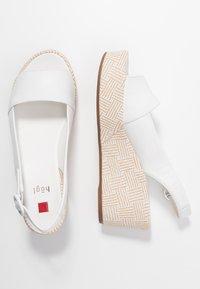 Högl - Platform sandals - bamboo weiß - 3
