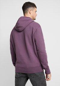 Mennace - ESSENTIAL SIG HOODIE UNISEX - Hoodie - purple - 2
