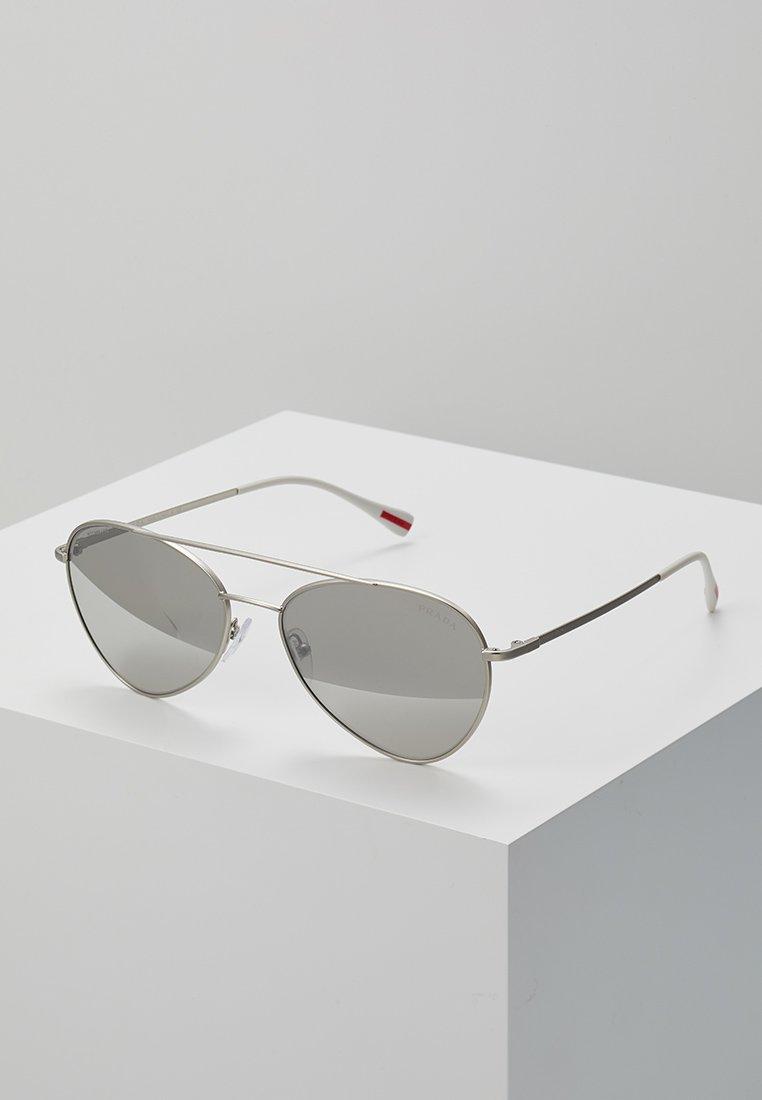 Prada Linea Rossa - Sunglasses - silver-coloured