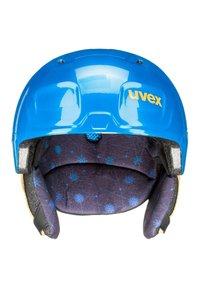 Uvex - Helmet - blue caterpillar - 1