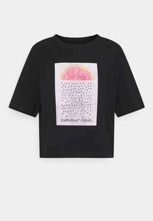 NMAMY  - Print T-shirt - black