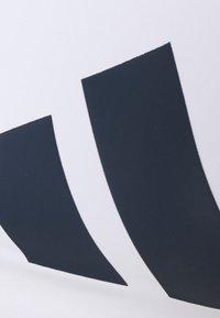 adidas Performance - ALPHA - Reggiseno sportivo con sostegno elevato - white/navy - 5