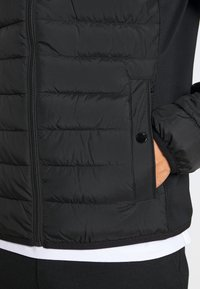 TOM TAILOR - HYBRID JACKET - Light jacket - black - 3