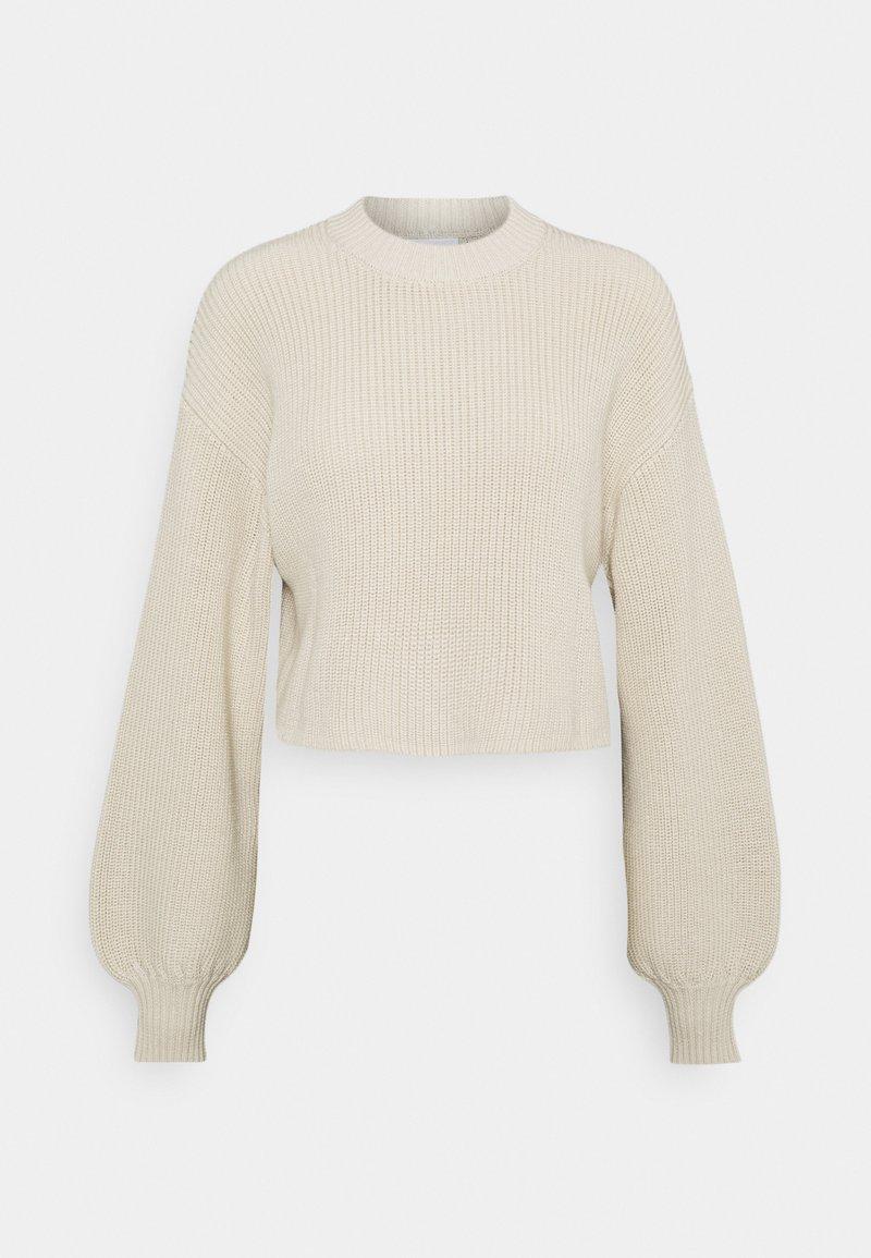 Monki - Stickad tröja - beige dusty light