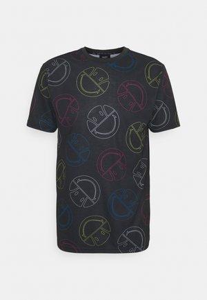 MERILINO TEE - T-shirts med print - dark grey