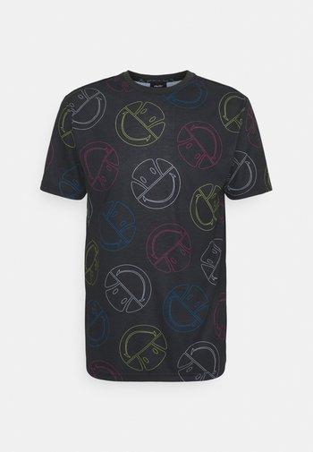 MERILINO TEE - Print T-shirt - dark grey