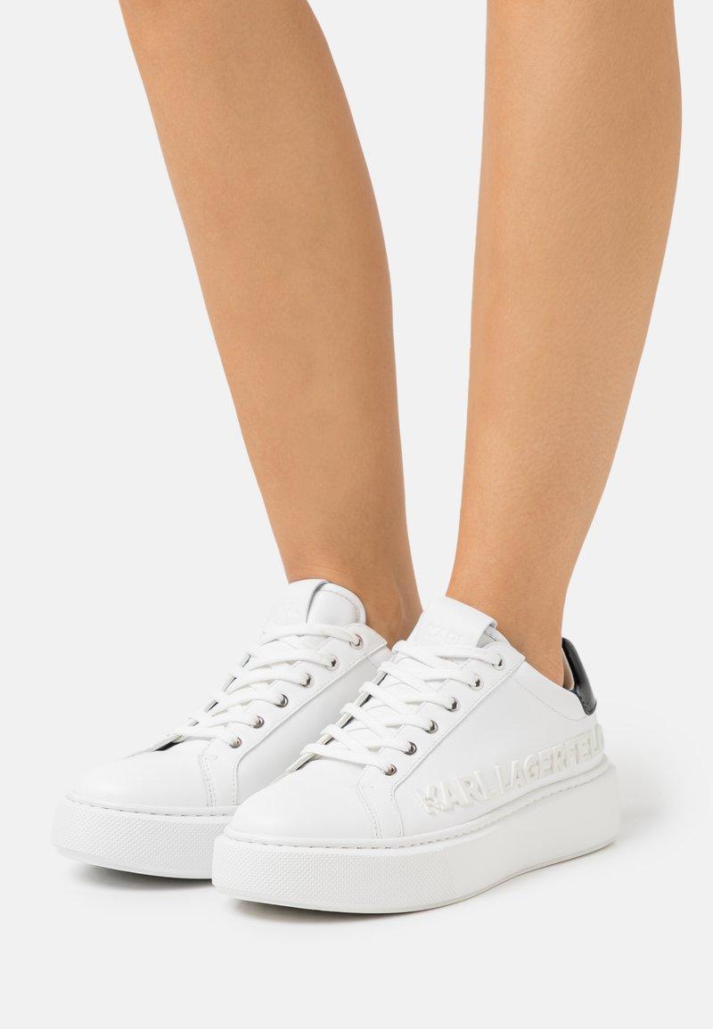 KARL LAGERFELD - MAXI KUP INJEKT LOGO - Sneaker low - white