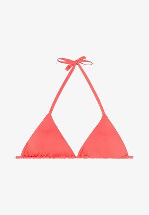 MIT VERSCHIEBBAREN CUPS INDONESIA ECO - Bikini top - glossy red