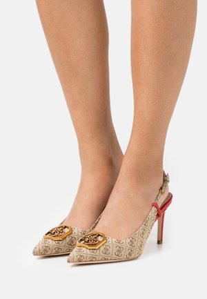 ALENY - Klassieke pumps - beige/light brown