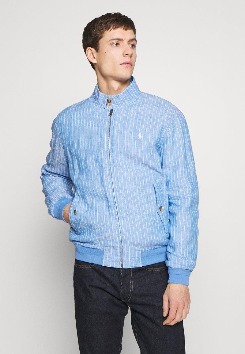 Polo Ralph Lauren - CITY  - Bomber Jacket - capri blue/white