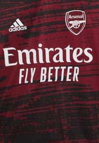 adidas Performance - ARSENAL FC AEROREADY SPORTS FOOTBALL  - Klubové oblečení - bordeaux - 2
